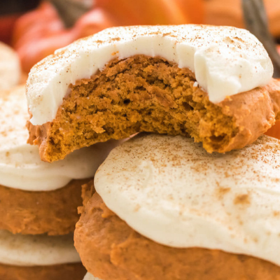 pumpkin spice cookies are a delicious braces friendly snack
